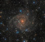 Intermediate spiral galaxy IC 342 in true colors in high resolution — Stock Photo