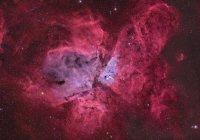 NGC 3372 Eta Carinae Nebula in Echtfarben in hoher Auflösung — Stockfoto