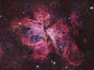Nebulosa Carina en colores verdaderos en alta resolución - foto de stock