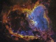 IC 1805 Nebulosa del corazón en la constelación Cassiopeia en alta resolución - foto de stock