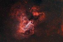 M17 Omega-Nebel in Echtfarben in hoher Auflösung — Stockfoto