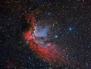 NGC 7380 мастера туманность в истинных цветах в высоком разрешении — стоковое фото