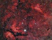 Región de Sadr en la constelación Cygnus en alta resolución - foto de stock