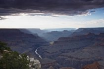 View of Grand Canyon from Moran Point South Rim, Arizona, USA — Stock Photo