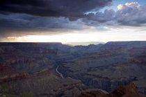 Vue du Grand Canyon de Moran Point South Rim, Arizona, Usa — Photo de stock