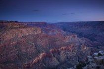 Vista del gran cañón de Moran punto borde sur, Arizona, Usa - foto de stock