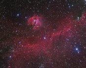 IC 2177 nebulosidad en alta resolución - foto de stock
