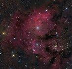 NGC 7822 Stern im Sternbild Kepheus komplexe bilden — Stockfoto