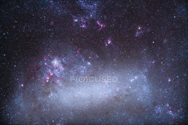 Paisaje estelar con Nebulosa Tarántula - foto de stock