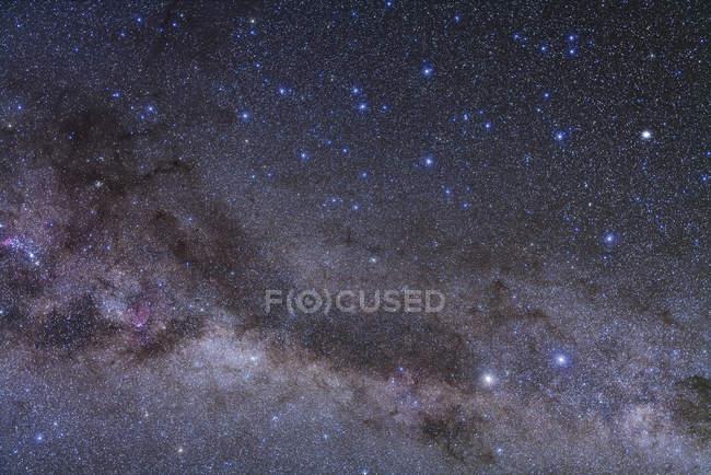 Starscape з сузір'я Центавра — стокове фото