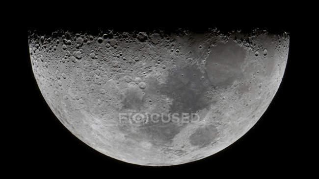 Característica Lunar-X en la Luna - foto de stock