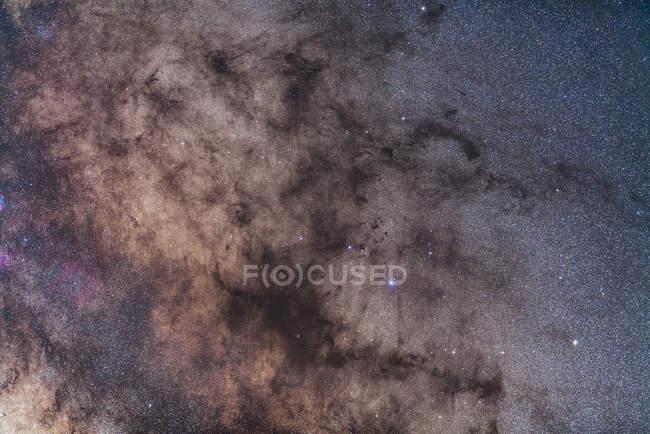Starscape con Nebulosa de Tubería - foto de stock