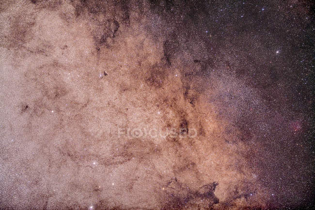 Starscape with Sagittarius Star Cloud — Stock Photo