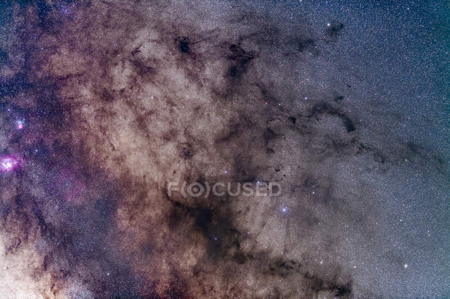 Starscape with Pipe Nebula — Stock Photo
