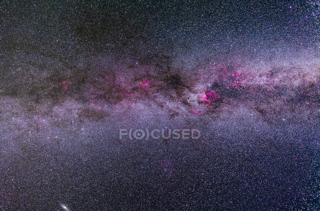Starscape з Північного Чумацького шляху — стокове фото