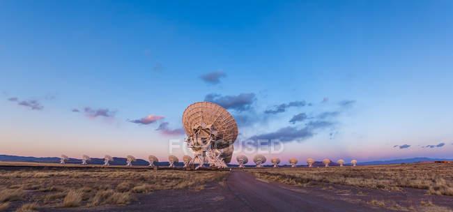 Radiotelescopio ad array molto grande — Foto stock