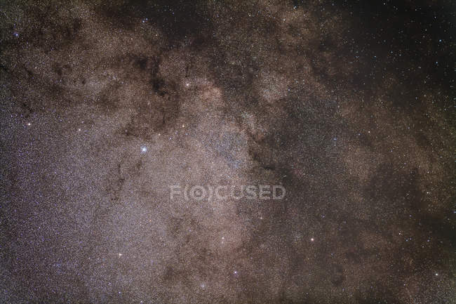 Starscape with Scutum star cloud — Stock Photo