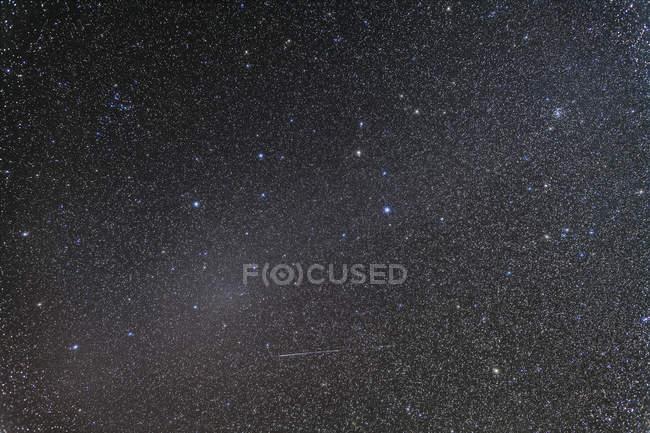 Starscape with Gegenschein glow — Stock Photo
