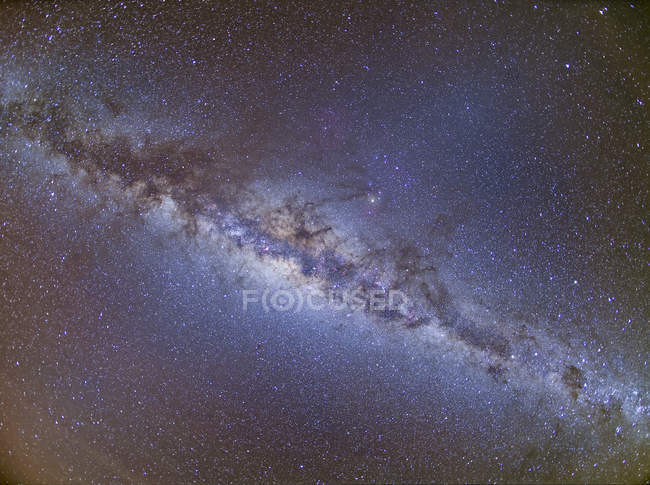 Starscape з Чумацького шляху — стокове фото
