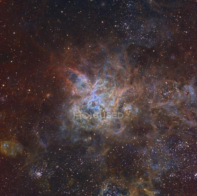 Nebulosa Tarántula en Gran Nube de Magallanes - foto de stock