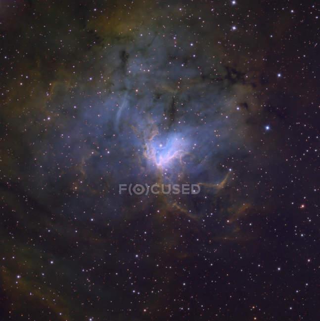 Emission nebula in constellation of Perseus — Stock Photo