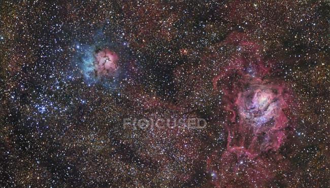 Star forming region in constellation Sagittarius — Stock Photo