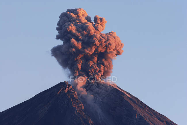 Semeru eruption on Java Island — Stock Photo