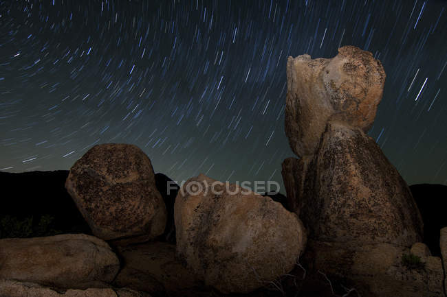 Granite boulders in Cleveland National Forest — Stock Photo