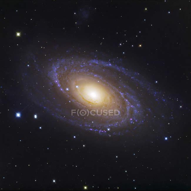 Messier81 galáxia na constelação de Ursa Major — Fotografia de Stock