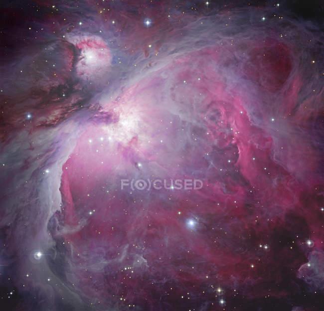 Orion nebula in Milky Way — Stock Photo