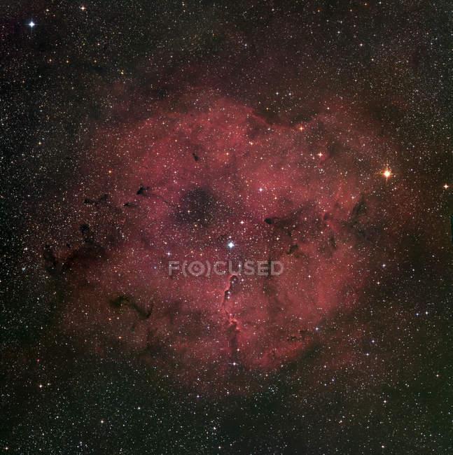IC1396 nebulosa de emisión en constelación Cepheus - foto de stock