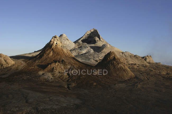 Ol Doinyo ленгала вершинного кратера — стокове фото