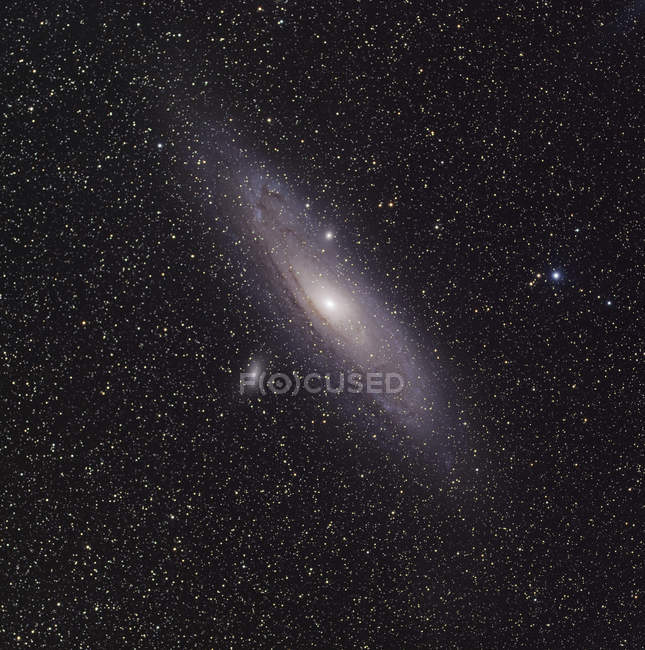 Starscape with Andromeda Galaxy — Stock Photo