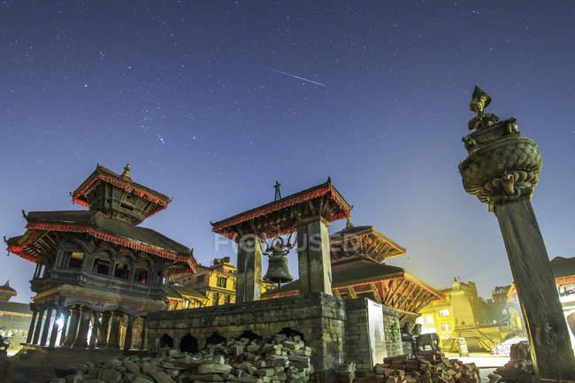 Квадрат торжественного приема Бхактапура — стоковое фото