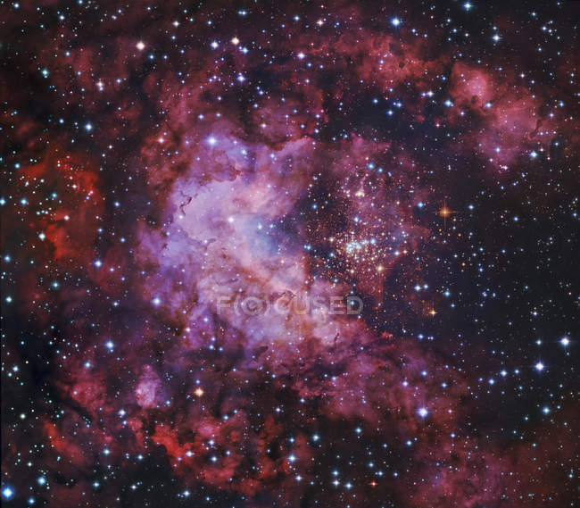 Westerlund 2 star cluster — Stock Photo
