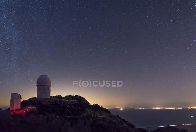 Osservatorio di Mayall a Kitt Peak — Foto stock