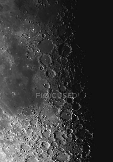 Rupes Crête de Recta et cratères Pitatus et Tycho — Photo de stock