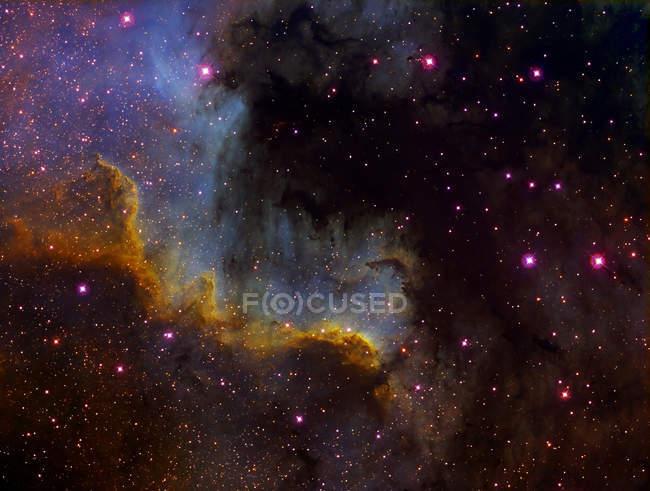 North America nebula NGC 7000 in constellation Cygnus — Stock Photo