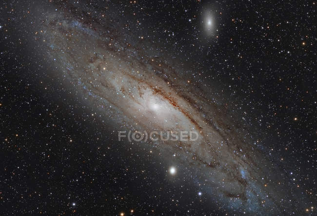 Andromeda Galaxy Messier 31 NGC 224 in high resolution — Stock Photo