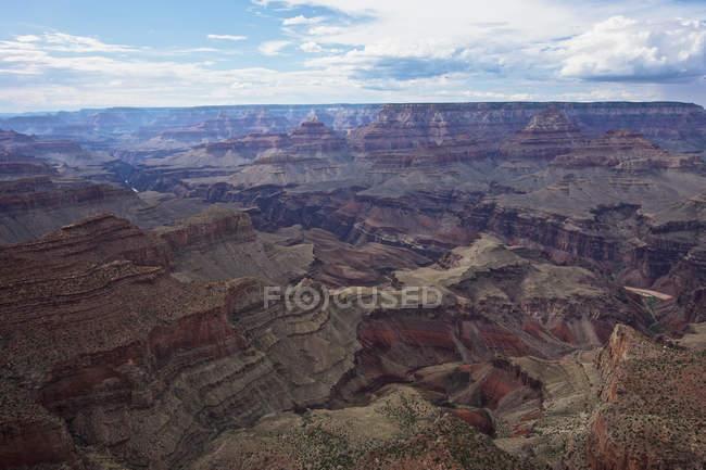 Vista del Grand Canyon da Moran Point west, Arizona, Stati Uniti in cerca — Foto stock