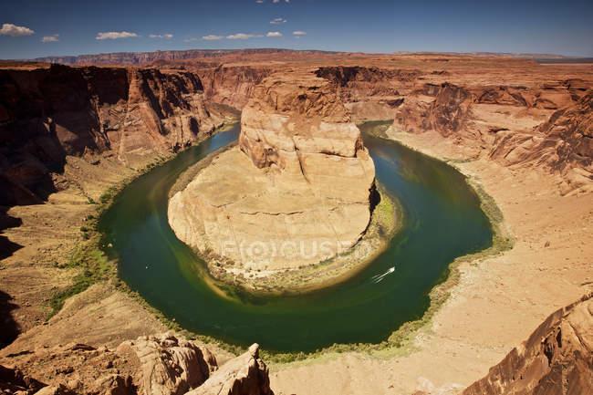 Horseshoe Bend on Colorado River, Arizona, Estados Unidos - foto de stock
