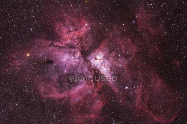 NGC 3372 Туманность Карина в истинных цветах в высоком разрешении — стоковое фото