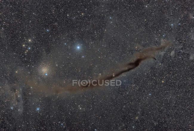 Dunkle Doodad-Nebel in Echtfarben in hoher Auflösung — Stockfoto