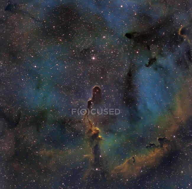 Nebulosa en colores verdaderos en alta resolución - foto de stock