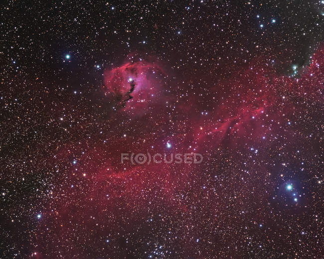 IC 2177 nebulosity in high resolution — Stock Photo