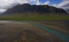 Мальовничим видом лиману під Eyjafjallajokull льодовик на південному Ісландії — стокове фото
