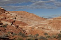 Landscapes of Valley of Fire State Park, NV — Stock Photo
