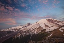 Vue de neige-Cape Mount Rainier. — Photo de stock