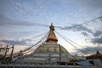 Boudhanath, più sacri siti buddhisti nel mondo, Kathmandu, Nepal — Foto stock
