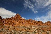 Landschaften des Valley of Fire State Park, Nv — Stockfoto